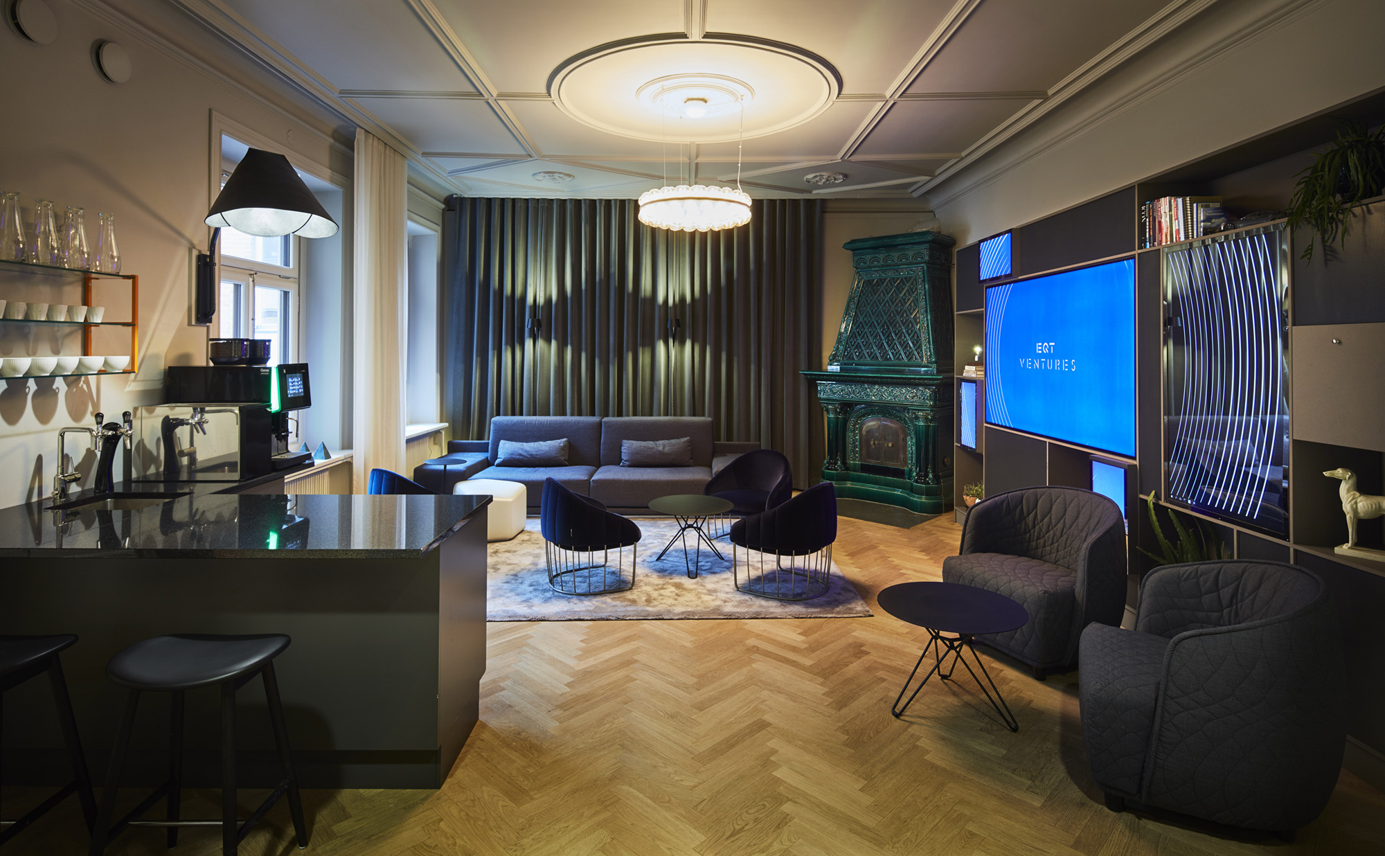 stockholm office. Studio Stockholm Designs EQT Venture\u0027s New Office R